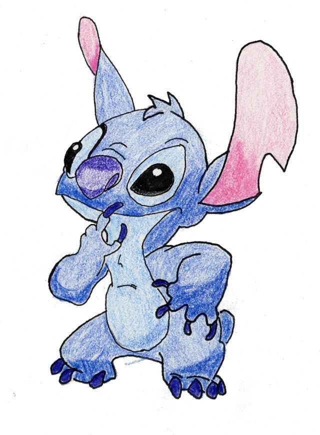 How To Draw Stitch page 2