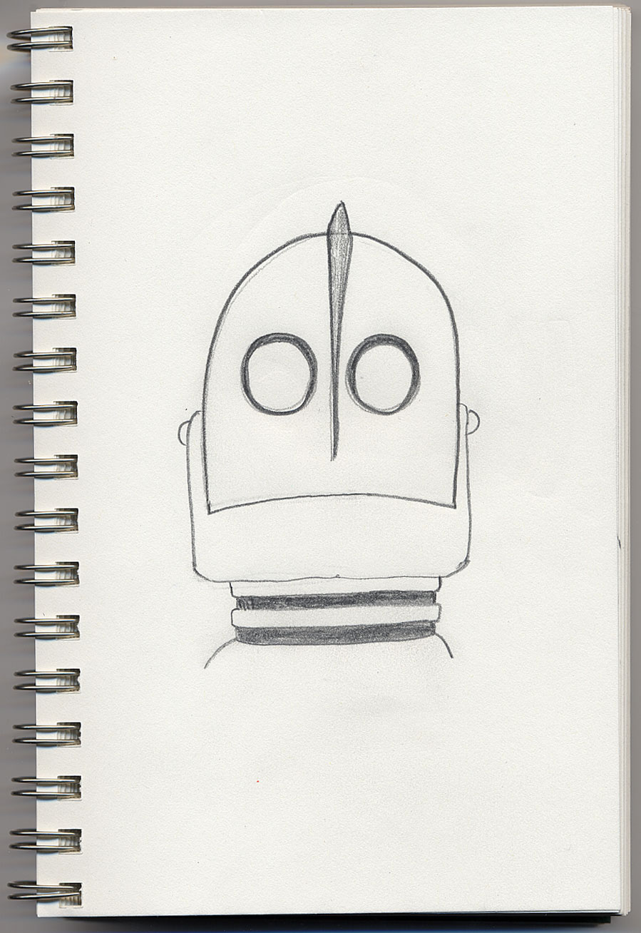 coloring pages iron giant boy - photo#40