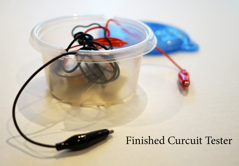 Finished curcuit tester